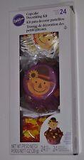 Wilton Thanksgiving Festive Scarecrow Cupcake Decorating Kit, Decorates 24