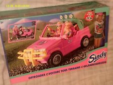 HASBRO SINDY COOL FUN DOLL & OFFROADER JEEP  NRFB FROM 1996