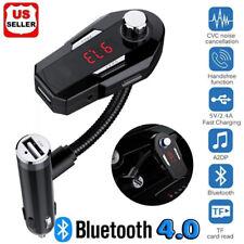 Bluetooth 4.0 FM Transmitter Car Radio FM Modulator Adapter Kit Wireless USB USA