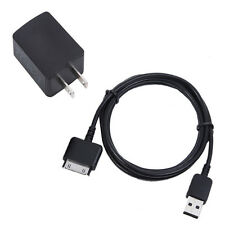 "USB Sync Data Cable and Wall AC Charger for Barnes & Noble Nook HD 7""  9"" Tablet"