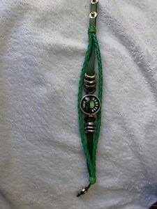 Green & Blue Seattle Seahawks 'Seattle Lovin Girl' Bracelet