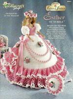 Esther of Mobile Ladies of Fashion Crochet Gown Pattern for Barbie Dolls NEW