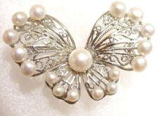 Modeschmuck-Broschen & -Anstecknadeln mit Perle Perlmutt