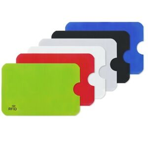 10Pcs NFC Shield Case Anti Degaussing ID Holder Anti RFID Holder Practical