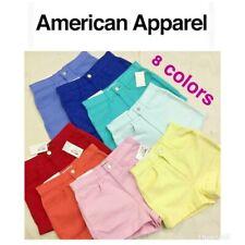 ORIGINAL American Apparel Colored Cuffed high waist Denim Shorts - 8 colors