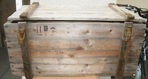 Weinkiste Holzkiste Truhe Tisch Shabby Chick Vintage Couchtisch Möbel  2.Wahl