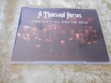 "A Thousand Horses ""Drunk Dial"" single CD LIKE NEW USDJ PROMO 2015 Republic"