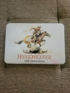 New Winchester Limited Edition 2005 3 pc Knife Set In Tin