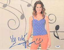 LAURA MARANO SIGNED AUSTIN & ALLY 11x14 PHOTO! AUTOGRAPH PSA DNA PROOF!