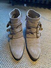 Chloe Susanna Suede Boots Studs Size 41