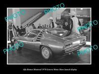 Alfa Romeo MONTREAL CARELLO HEADLIGHT LOCK RING NEW OLD STOCK