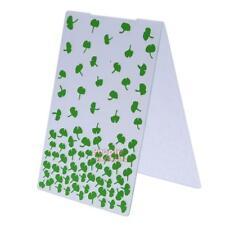 P4PM 1pc Leaves Plastic Embossing Folder For Scrapbook DIY Album Card Tool