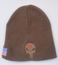 American Sniper Craft International Brown Beanie Hat Knit Cap