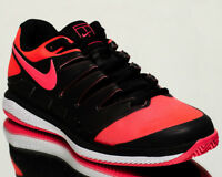 Nike Air Zoom Vapor X Clay men tennis shoes NEW black solar red white AA8021-006