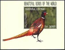 Sierra Leone 2004 Ring-necked Pheasant/Birds/Nature/Wildlife 1v m/s (n12428)