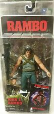 "NECA Rambo 7"" Action figure Sylvester Stallone MIP accessories First Blood John"