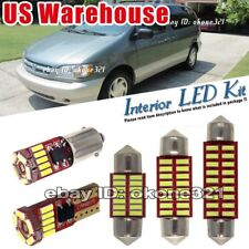 15-pc Super White LED Lights Interior Package Kit Fit Toyota Sienna 1998-2003