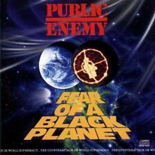 PUBLIC ENEMY (FEAR OF A BLACK PLANET CD - SEALED + FREE POST)