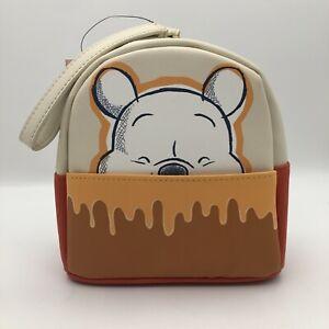 Danielle Nicole Disney Wallet Winnie The Pooh Bear Honey Mini Backpack Wristlet