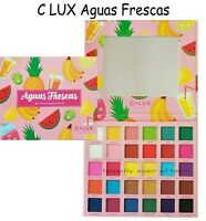 C LUX Aguas Frescas Eye Shadow Palette - 30 Color Shadow Palette - Authentic