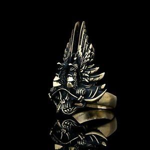 Dragon Age Grey Wardens Ring, handmade, brass