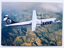 LOT Polish Airlines official postcard ATR-72