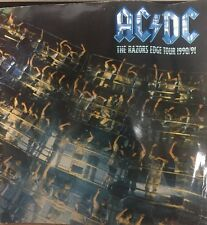 AC/DC The Razors Edge Tour Book 1990-1991 Thunderstruck Are You Ready Moneytalks