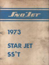 1973 Sno-Jet Snowmobile Star Jet Ss'T Model Parts Manual (685)