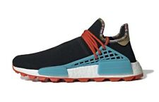 501172323 Adidas Pharrell Human Race Trail Inspiration Pack Hu NMD Black Blue Orange  11.5