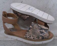 NEW Clarks Artisan Womens Lydie Hala Beige Black Sandals Shoes 08668 sz mm 6 M*