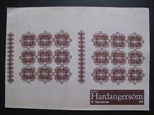 HARDANGERSÖM (392) -  HARDANGER EMBROIDERY Pattern Book