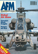 AIR FORCES MONTHLY 1/94 RCAF No.414 CT-133 / LYNX Mk.9 / ROMANIAN AF / VFC-127