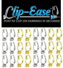 Clip-On Earring Converter. Turn Any Post Earrings Into Clip-On Earrings! 2 PAIR!
