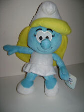 NEW The Smurfs Character Soft Plush Toy Smurfette Pretty Girl Stuffed Doll 13""