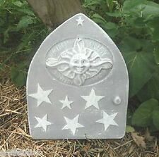 Plaster concrete abs plastic sun fairy door mold see more molds in my ebay store