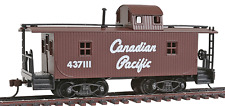 HO GAUGE-MODEL POWER-99147-CANADIAN PACIFIC RAILROAD 32' WOOD CABOOSE
