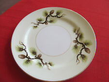 NARUMI CHINA JAPAN SHASTA PINE (cones/needles)  BREAD & BUTTER PLATE  6 1/2""