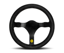 MOMO Steering Wheel Mod 31 Black Suede Leather 320 mm