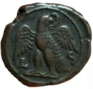 Philip I BI Tetradrachm of Alexandria, Egypt. Dated RY 6 = AD 248/9. Eagle