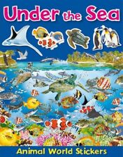 Brown Watson Under the Sea Animal World Stickers Activity Children's A10 LL126