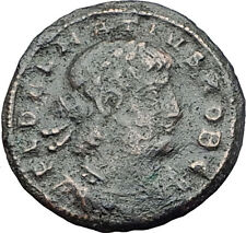 DELMATIUS Dalmatius 335AD  Authentic Ancient Roman Coin - GLORY OF ARMY  i61587