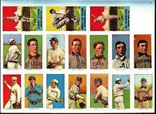 98 Vintage Baseball Cigarette, Gum, Cracker Jack Cards Book - 77' Dover Reprint