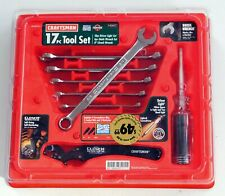 NOS Craftsman USA 43417 17pc Quick Wrench, Clench Wrench & Driver Light Tool Set