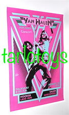 VAN HALEN - Salem, Us - 10 august 1978 -  concert poster