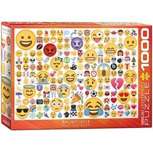 Emoji Emojipuzzle 1000 piece jigsaw puzzle 680mm x 480mm (pz)