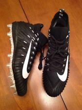 New Nike Alpha Menace Elite Football Cleats Size 12 Black Aj6547-002