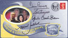1998 MULTICON Event - QUAD Signed Cover - Prowse, Ferrigno, Brown & Goddard !!