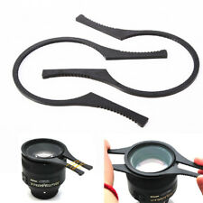 【AU】2pcs 62-77mm Camera Lens Filter Removal Tools Wrench Plier Spanner Plastic
