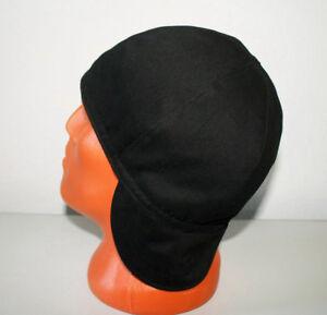 #21 Black/Dark Blue Welders Hats, Bikers Caps, Welding Cap Hat Cotton.