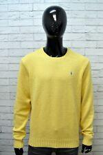 RALPH LAUREN Maglione Uomo Taglia XL Pullover Felpa Sweater Man Cardigan Cotone